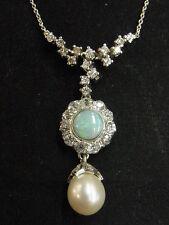 Reinheit SI Echte Diamanten-Halsketten & -Anhänger auf Mittel