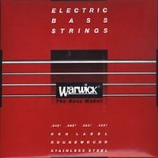 WARWICK RED LABEL 42301 M Bass-Saiten 5-str. 045-135 Strings NEU! OVP!