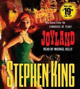 Joyland by Stephen King Audio CD
