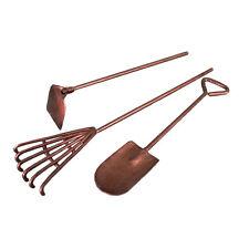 Fiddlehead Mini Garden Tools 3pc (Rake, Hoe & Shovel) - Magical Fairy Garden