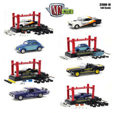 MODEL KIT 4 PIECES CAR SET RELEASE 18 1/64 DIECAST CARS BY M2 MACHINES 37000-18