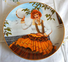 Queen Of The Gypsies Plate Official I Love Lucy Plate Collection Coa