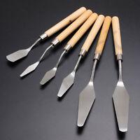 Professional Stainless Steel Artist Oil Painting Palette Knife Spatula Paint Art