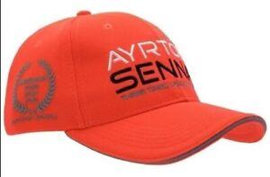 Brand New Cap original Ayrton Senna McLaren World Champion by Senna brand Brazil