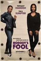 "NOBODY'S FOOL Original 27"" X 40"" DS/Rolled Movie Poster - 2018 - TIFFANY HADDISH"
