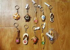 Hawaii Hawaiian keychain, party favor souvenir turtle flip flop hibiscus Lot 1