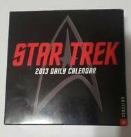Star Trek Universe 2013 Day-to-Day Calendar -Complete Calendar with Original Box