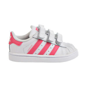 Adidas Superstar CF I Toddler Shoes Footwear White-Real Pink-Real Pink cg6638