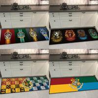 Harry Potter 4 Colleges Symbol Carpet Floor Mat Home Anti-skid Decor Area Rugs