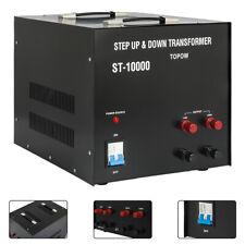 10000W Watt Voltage Transformer Step Up Down 110V to 220V Converter Heavy Duty