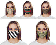 Designer Facemasks- PPE Fashion Protection Family Friends Support Presents Gifts
