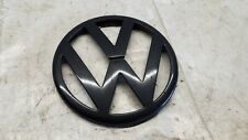 VW Golf 4 Zeichen Emblem Schwarz Kühlergrill MK4 GTI TDI 1,4l 1,6l 2,0l