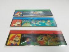 Super Mario World Lenticular Rulers (3pc) Mitsubishi Nintendo Merchandise