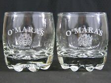 Bormioli Rocco GALASSIA Custom Engraved O'Mara Irish Liqueur Rocks Cordial Glass