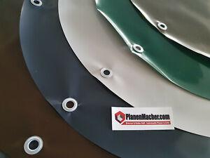 LKW Plane PVC Plane Pool Rund - verschiedene Durchmesser und Farben (680g/m²)