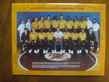 DANA BARROS/JIM O'BRIEN Signed 1987-88 Boston College Basketball Guide(17 Signed