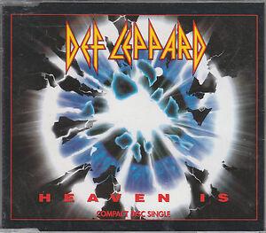 Def Leppard CD-MAXI HEAVEN IS  /PICTURE CD  ( NEUWERTIG)