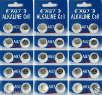 30 AG7 LR927 395 SR57 1.5 Volt  Alkaline Cell Watch Batteries Ships From USA