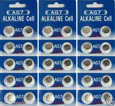 30 AG7 LR927 395 SR57 1.5 Volt  Alkaline Cell Watch Batteries Ships From USA