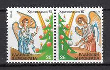 GREECE 1987 CHRISTMAS MNH