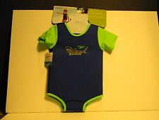 SPEEDO KIDS One Piece Warmer Swimmer NEW with Tags!! 12-24 month