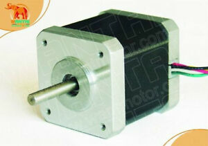 Wantai 1PC CNC Nema17 for 2.4A, 4200g.cm, 48mm length,0.9 °Wantai Stepper Motor