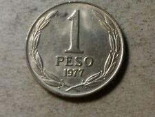 Chile 1 peso 1977