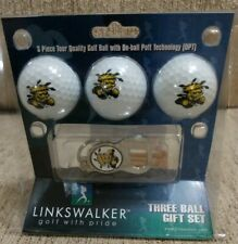 Wichita State Shockers Cap Tool 3 Ball Gift Pack. New in package.