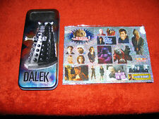 Dr.  Who  BBC  2004  Dalek / Cyberman  Pen / Pencil Tin /Case  And Some Stickers