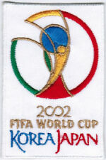 2002 17th FIFA World Cup South Korea Japan Soccer Patch