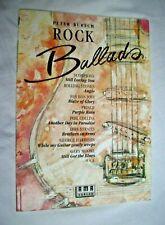 Peter Bursch: ROCK BALLADS - sehr gut erh. Heft 1991 - Scorpions Prince Stones