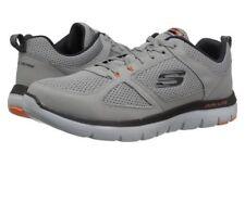 Skechers Mens 52180/lgor Sport Flex Advantage 2.0 Light Gray/orange Size 13