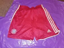 "Men's Adidas Sports Shorts Vtg polyester Football  gym fitness Medium 34"" Red 2"