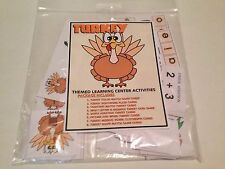 Turkey -Themed Learning Activities Package - Laminated - Teaching supplies
