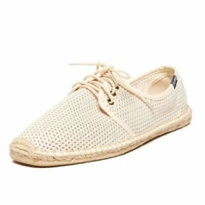 New in Box SOLUDOS Men's Mesh Lace up Derby *Natural U.S. Size: 7
