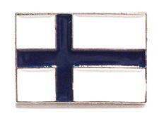 Finland National Flag Finnish Suomen Tasavalta Enamel Badge 20mm