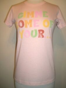Girls soft Gimme Some DOTS candy 2-Side Junk Food T-shirt