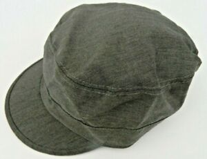 Macahel Mens / Ladies Quality Train Drivers / Military / Army Cap Hat - Brown