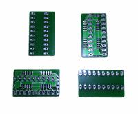 Neu 4x Adapter Für SOJ20 - DIP20 Speicher Chip RAM Amiga 500 2000 #549