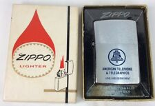 Zippo Regular 1966 American Telephone Enamel M.I.B. (I216)