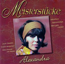 ALEXANDRA : MEISTERSTÜCKE / CD