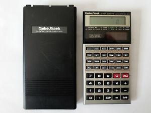 Nice Collectible Solar Powered 10 Digit Scientific Calculator Radio Shack EC-403