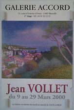 Provence 2000 poster expo jean vollet gallery agreement at marseilles/bp59