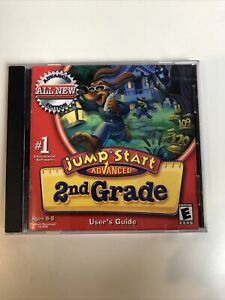 Jump Start ADVANCED 2nd Grade WINDOWS MAC PC CD-ROM 2002 Knowledge Adventure