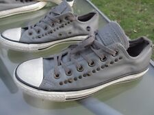 CONVERSE ALL STAR Low Top Unisex Shoe / Pre-owned / Leather / M 6.5 / W 8.5