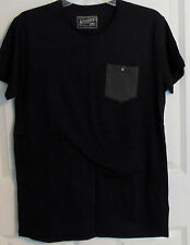 Cotton On Cottonon.com Black Charcoal Gray Pocket T-Shirt Men's Small NEW