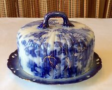 Flo Blue Cheese Dish & Cover