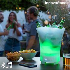 Cestello LED con Altoparlante Ricaricabile Sonice Innovagoods - Go-negozio