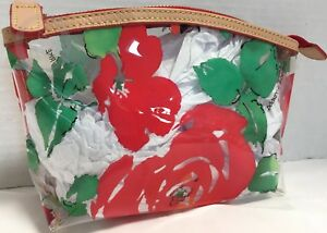Dooney & Bourke*LARGE*Cabbage Rose*Cosmetic/Utility Bag 18172Q S185