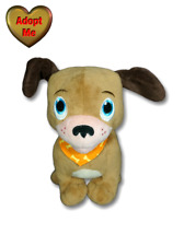 Disney Store Doc McStuffins Findo Brown Puppy Dog Orange Stuffed Plush Animal